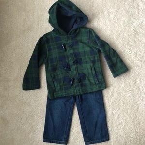 Boys' Jacket and Jean Set Sz 18 months